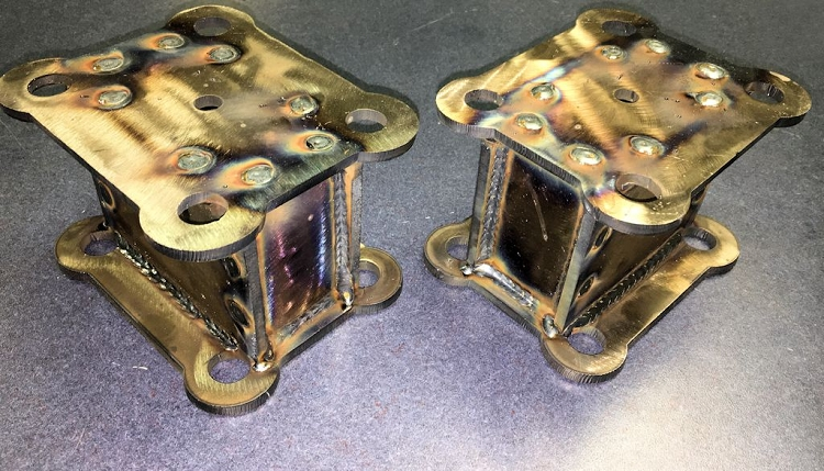 Dodge Off Road Fabricated Lift Blocks 2nd Gen