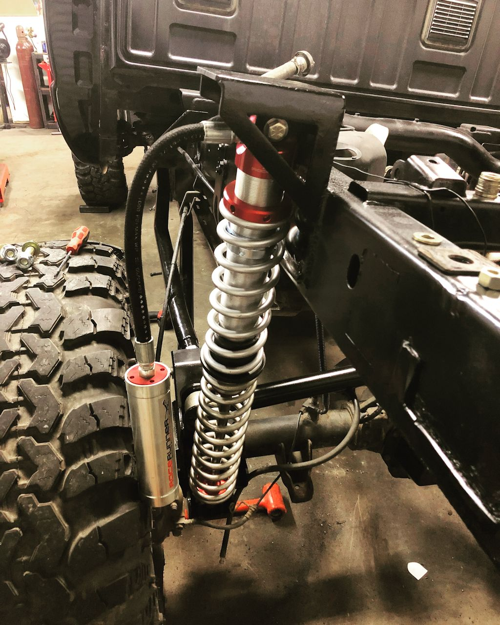 Dodge Off Road Rear 4 Link Coilover Suspension