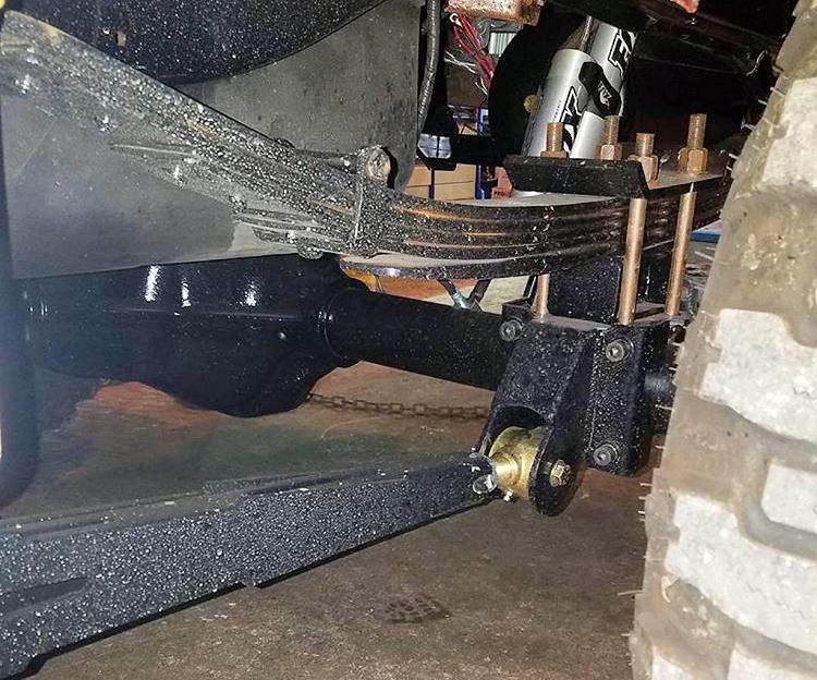 Dortractionbars on Dodge Ram 2500 Control Arms