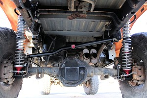 Dodge Off Road Extreme Rear 4 Link Kit - 3rd and 4th Gen